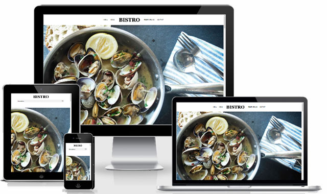 Wordpress Webdesign Bistro 01